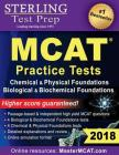 Sterling Test Prep MCAT Practice Tests: Chemical & Physical + Biological & Biochemical Foundations Cover Image