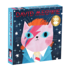David Meowie Music Cats 100 Piece Puzzle Cover Image
