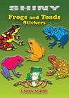 Shiny Frogs and Toads Stickers (Dover Little Activity Books Stickers) Cover Image