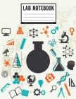 Lab Notebook: 1/4 Square inch - Chemistry Lab Notebook For School / Student / College (Large Print) 108 Pages: Student Lab Notebook Cover Image