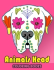 Animals Head Coloring Book: For Kids, Toddlers Cover Image