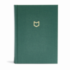 CSB He Reads Truth Bible, Evergreen Cloth Over Board Cover Image