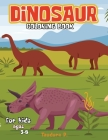 Dinosaur Coloring Book for Kids: Dinosaur Coloring Pages for Boys & Girls Age 3-8, Large Simple Picture Coloring Book Cover Image
