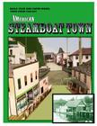 American Steamboat Town: A Paper Model Kit Cover Image