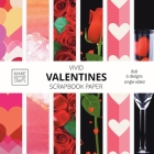 Vivid Valentine Scrapbook Paper: 8x8 Cute Designer Patterns for Decorative Art, DIY Projects, Homemade Crafts, Cool Art Ideas Cover Image