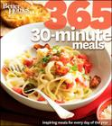 Better Homes and Gardens 365 30-Minute Meals Cover Image