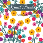 Guest Book- Orange Invasion - For any occasion - 66 color pages -8.5x8.5 Inch Cover Image