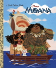 Moana Little Golden Book Cover Image
