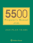 5500 Preparer's Manual for 2020 Plan Years Cover Image