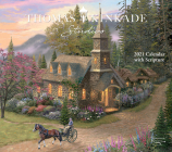 Thomas Kinkade Studios 2021 Deluxe Wall Calendar with Scripture Cover Image