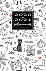 2020-2021 Weekly And Monthly Planner: 2 Year Calendar 2020-2021 Monthly & Weekly Pocket Planner Halloween (January 2020 through December 2020) Pocket Cover Image