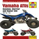 Yamaha ATVs Banshee, Warrior and Raptor 350: '87 to '10 (Haynes Service & Repair Manual) Cover Image