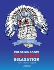 Coloring Books for Adults Relaxation: Native American Inspired: Adult Coloring Book; Artwork Inspired by Native American Styles & Designs; Animals, Dr Cover Image