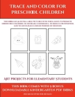 Art projects for Elementary Students (Trace and Color for preschool children): This book has 50 extra-large pictures with thick lines to promote error Cover Image