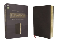 Nasb, Thompson Chain-Reference Bible, Bonded Leather, Black, Red Letter, 1977 Text Cover Image