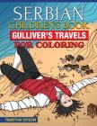 Serbian Children's Book: Gulliver's Travels for Coloring Cover Image