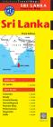 Sri Lanka Travel Map Third Edition Cover Image