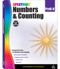 Numbers & Counting, Grades Pk - K (Spectrum) Cover Image
