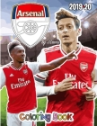 Pierre-Emerick Aubameyang and Arsenal F.C.: The Soccer Coloring and Activity Book: 2019-2020 Season Cover Image