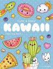 Cute and Easy Kawaii Colouring Book: 30 Fun and Relaxing Kawaii Colouring Pages For All Ages Cover Image