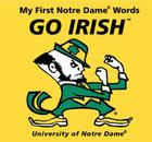 My First Notre Dame Words Go Irish Cover Image