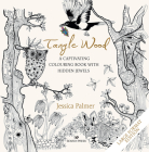 Tangle Wood - Large Format Edition: A captivating colouring book with hidden jewels Cover Image