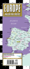 Streetwise Europe & Major Rail Routes Laminated Map (Michelin Streetwise Maps) Cover Image