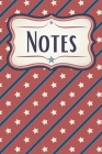 Stars and Stripes Patriotic Graph Paper Notebook: For Math, Science, Architecture, Design, and Engineering Cover Image