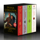 Outlander Volumes 5-8 (4-Book Boxed Set): The Fiery Cross, A Breath of Snow and Ashes, An Echo in the Bone, Written in My Own Heart's Blood Cover Image