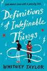 Definitions of Indefinable Things Cover Image