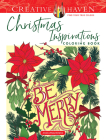 Creative Haven Christmas Inspirations Coloring Book (Creative Haven Coloring Books) Cover Image