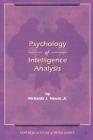 The Psychology of Intelligence Analysis Cover Image