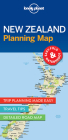 Lonely Planet New Zealand Planning Map 1 (Planning Maps) Cover Image