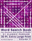 Word Search Book For Seniors: Pro Vision Friendly, 51 Classic Puzzles, 30 Pt. Extra Large Print, Vol. 11 Cover Image