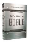 Niv, Boys' Bible, Hardcover, Comfort Print Cover Image