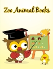 Zoo Animal Books: Christmas Book Coloring Pages with Funny, Easy, and Relax Cover Image