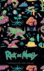 Rick and Morty Hardcover Ruled Journal Cover Image