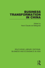 Business Transformation in China Cover Image