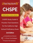 CHSPE Preparation Book: CHSPE Study Guide and Practice Test Questions for the California High School Proficiency Exam [2nd Edition] Cover Image