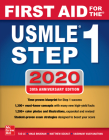 First Aid for the USMLE Step 1 2020, Thirtieth Edition Cover Image