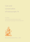 Care and Conservation of Manuscripts 14 Cover Image