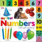 Tabbed Board Books: My First Numbers: Let's Get Counting! (My First Tabbed Board Book) Cover Image