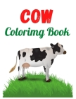 Cow Coloring Book: Stress-relief Coloring Book For Grown-ups, Containing 49 Paisley, Henna and Mandala Style Coloring Pages Cover Image