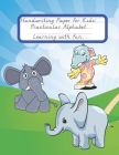 Handwriting Paper for Kids: Practicular Alphabet Learning with fun.: Cursive Writing Books and Practice Paper:3-Line and Checkered Writing Sheets( Cover Image