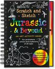 Jurassic & Beyond: An Art Activity Book for Prehistoric Artists and Explorers of All Ages [With Wooden Stylus] (Scratch and Sketch) Cover Image