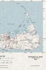 Nantucket, Massachusetts, Massachusetts (1980 Map) 4x6