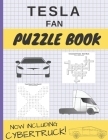 Tesla Fan Puzzle Book: Tesla Motors Fan Puzzle Book for Adults and Kids of All Ages Cover Image