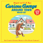 Curious George Around Town Boxed Set (Box of Six Books) Cover Image