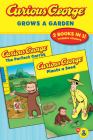 Curious George Grows a Garden (CGTV Double Reader) Cover Image
