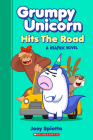 Grumpy Unicorn Hits the Road (Grumpy Unicorn Graphic Novel) Cover Image